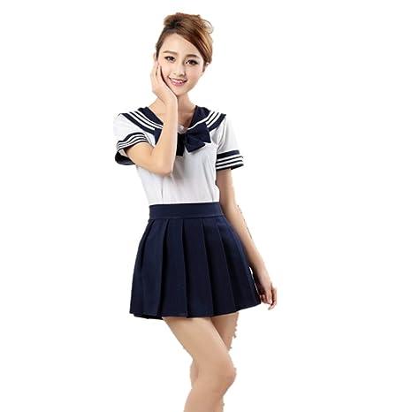 281f32dd8e Missley Uniforme Uniforme Uniforme Vestido Niña Traje Traje Uniforme  Cosplay (s