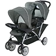 Graco DuoGlider Click Connect Stroller, Glacier, One...