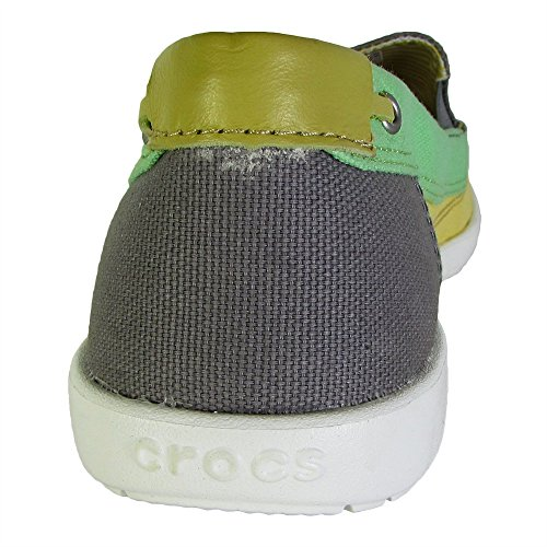 Crocs Women's Loafer Walu buttercup Canvas Smoke 4q7Sn4x