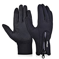 SNOWHALE All Weather Touchscreen Gloves for Men and Woman,Best for Cold Weather Winter Outdoor Sports Gloves