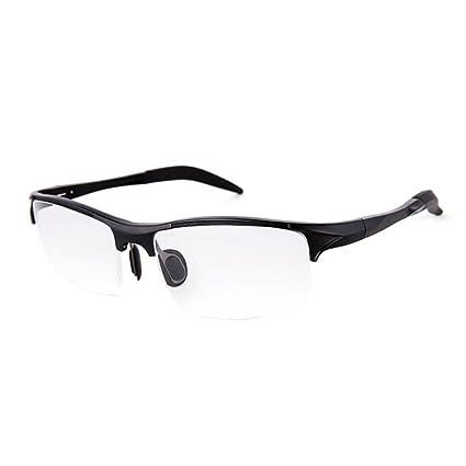 5bb2afdeca3 SUMDA Sport Eyeglass Frames Myopia Glasses Optical Eyewear Frame RX (black)
