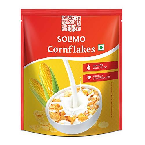 Amazon Brand – Solimo Corn Flakes 875g