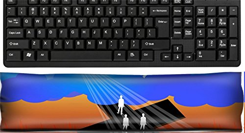Liili Keyboard Wrist Rest Pad Office Decor Wrist Supporter Pillow IMAGE ID: 21811489 Road to salvation ()