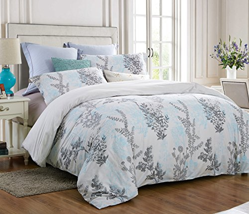 Word Of Dream 200tc 100 Cotton Floral Print Duvet Cover