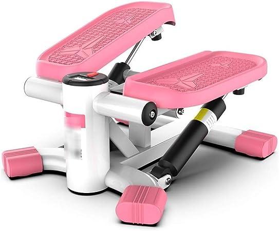 XIAOHUANG Aptitud Escalera Paso a Paso for la Mujer y el Hombre, Mini de Pasos de Fitness Ejercicio Cardio Trainer, StepperTwisting máquina, Paso a Paso Ejercicios Equipo con el Monitor LCD: Amazon.es: