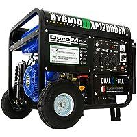 DuroMax XP12000EH 12000 Watt Dual Fuel (Hybrid) Portable Generator