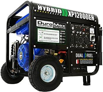 DuroMax XP12000EH 12000 Watt Dual Fuel Portable Generator