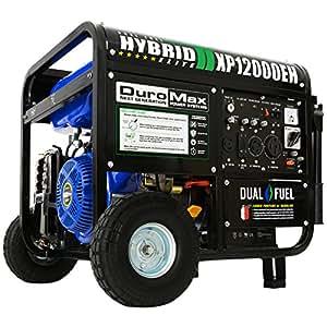 Amazoncom DuroMax XP12000EH Dual Fuel Portable Generator Garden