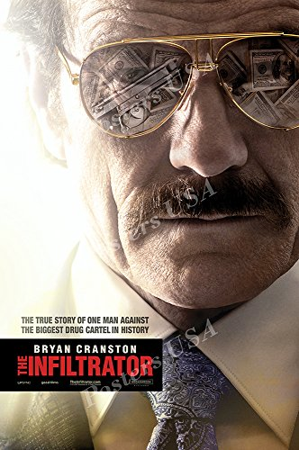 """Posters USA - The Infiltrator Movie Poster GLOSSY FINISH - MOV618 (16"""" x 24"""" (41cm x 61cm))"""