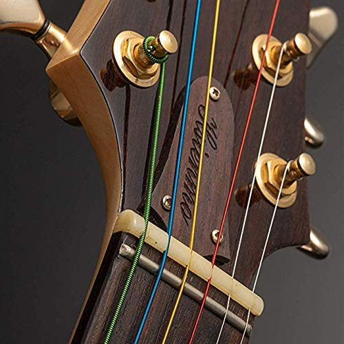 by LC Prime 41 Nylon 3-Pocket Padded Gig Bag Soft Case Backpack Fit Most Acoustic Guitar nylon black
