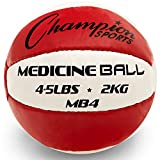 None Champion Sports Leather Medicine Balls