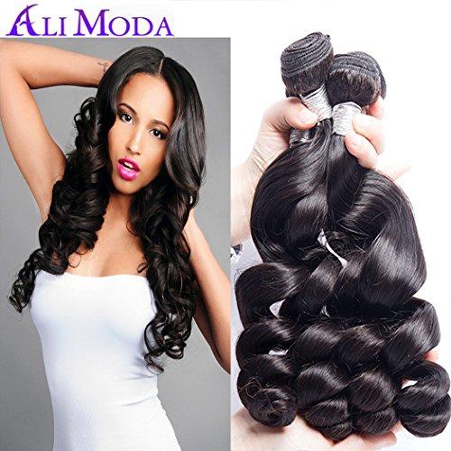 Ali Moda Malaysian 10A Loose Wave Hair 4 Bundles 100% Unproc