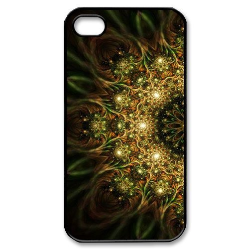 Alice iPhone 4,4s Case,Personalized Custom Abstract Mandara ,Unique Design Protective TPU Hard Phone Case Cover