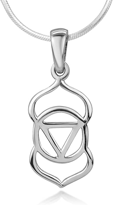 925 Crown   Chakra  Pendant  ! Sterling Silver Brand  New  !!