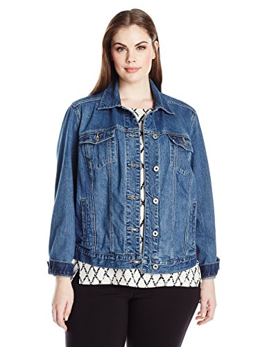 Lucky-Brand-Womens-Plus-Size-Classic-Trucker-Jacket