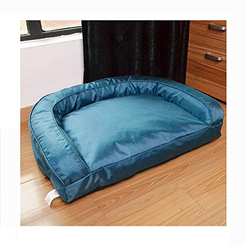 Blanket 1 725310cm Blanket 1 725310cm Pet bed, removable and washable, four seasons universal Oxford cloth + PP cotton medium dog sofa, blanket blanket + toy pig 2 style