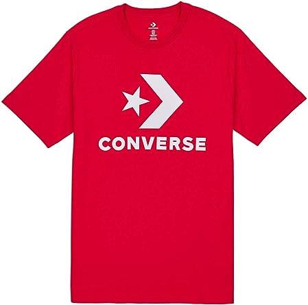 Converse 10018568 610 Star Chevron T-Shirt pour Homme Rouge ...