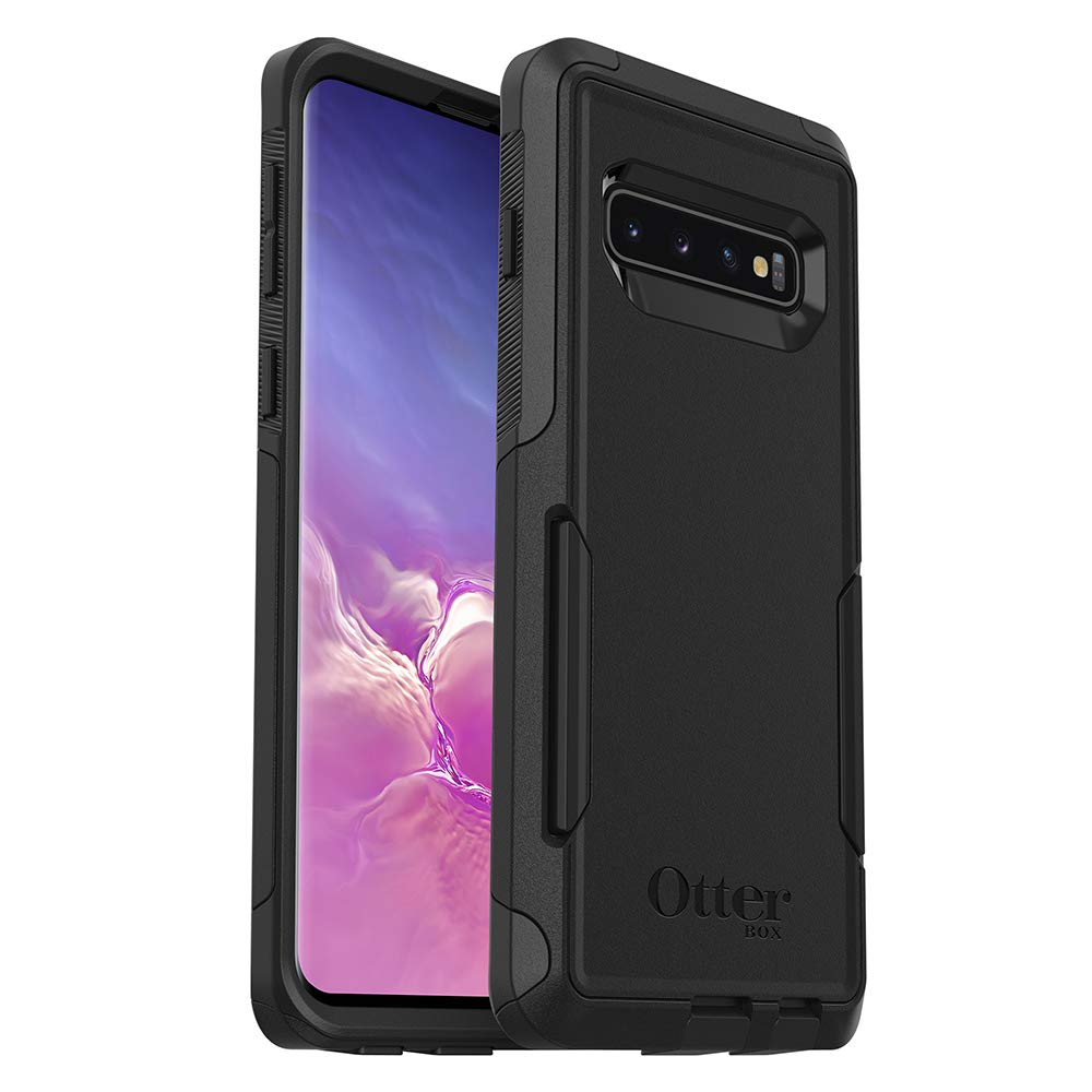 OtterBox COMMUTER SERIES Case for Galaxy S10 - Retail Packaging - BLACK by OtterBox