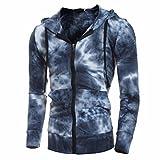 Aurorax Men's Fleece Hooded Sweatshirt, [Casual Cotton Long...