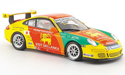 Porsche 911 GT3 Cup, No.6, Asian Carrera Cup, Macau, 2007, Model Car, Ready-made, Minichamps 1:43 (Porsche Cup Gt3)