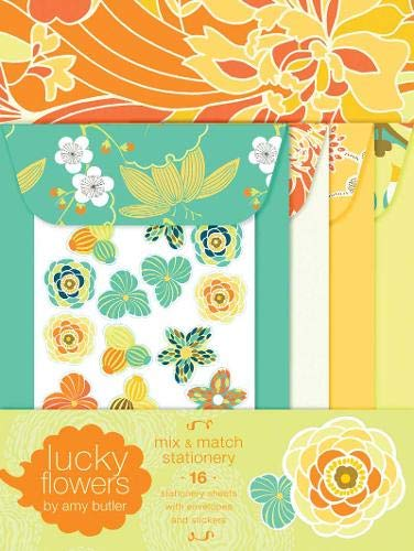 Paper Butler Amy - Lucky Flowers Mix & Match Stationery