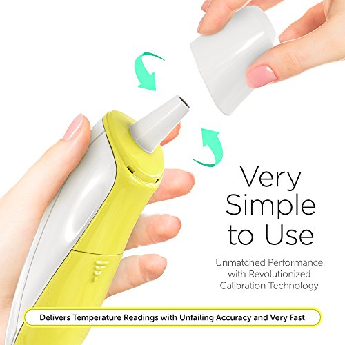 Forehead and Ear Thermometer for Baby, Kids and Adults - Digital Medical Infrared Thermometer for Body with Fever Indicator by ChadoDK (Image #3)