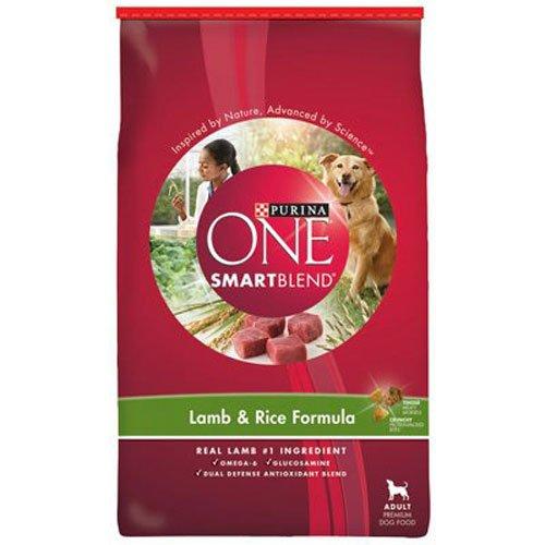 Purina ONE SmartBlend Dry Dog Food, Lamb & Rice Formula -  8