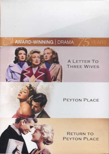 Twentieth Century Fox Award Winning Drama Collection - A Letter To Three Wives/Peyton Place/Return To Peyton (Award Winning Collection)