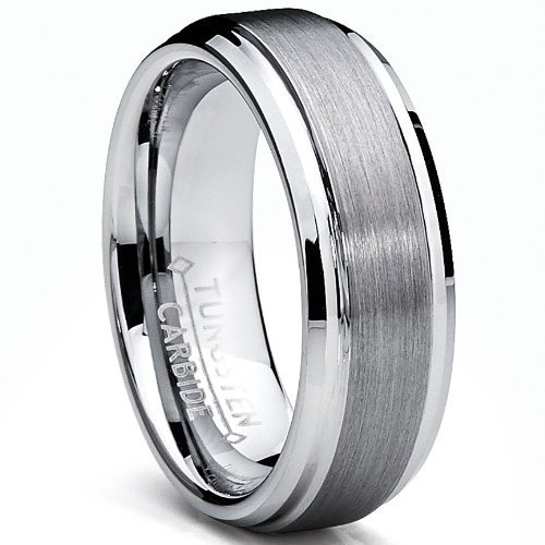 Favori Ultimate Metals Co. 7MM Bague Alliance Tungstene Pour Homme  OB64