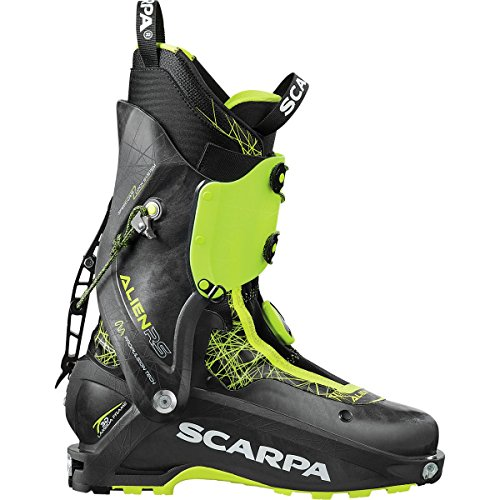 (SCARPA Alien RS Alpine Touring Boot Carbon Black, 27.0)