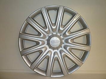 Juego de Tapacubos 4 Tapacubos Diseño de Ford Fiesta 15 r Desde 2008: Amazon.es: Coche y moto