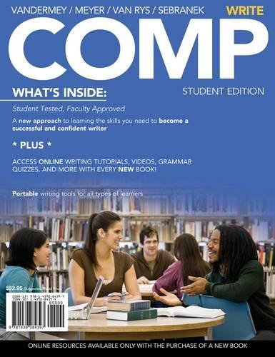 COMP: Write (with English CourseMate with eBook Printed Access Card) (Available Titles CourseMate)