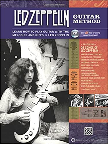 led zeppelin guitar method immerse yourself in the music and mythology of led zeppelin as you learn to play guitar