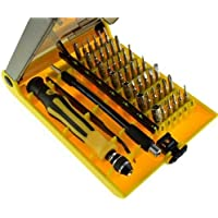 45 in 1 Professional Openning Tool Screwdriver Kit Set with Tweezers