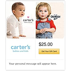 Carter's/ OshKosh Castle Gift Cards - E-mail Delivery