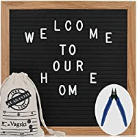 10 x 10 Felt Changeable Letter Board with Letters