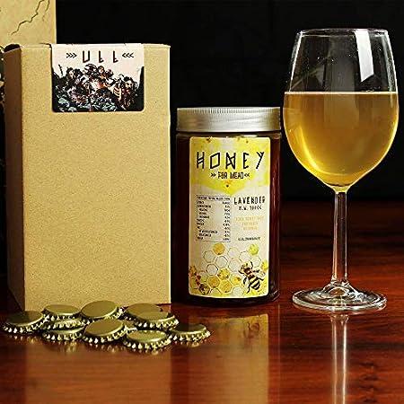 #My Brewery DRINK YOUR OWN BEER Recarga de materias primas para fabricar Hidromiel | 3,8 litros | Receta cantueso | 9,5% ALC. | Miel andaluza