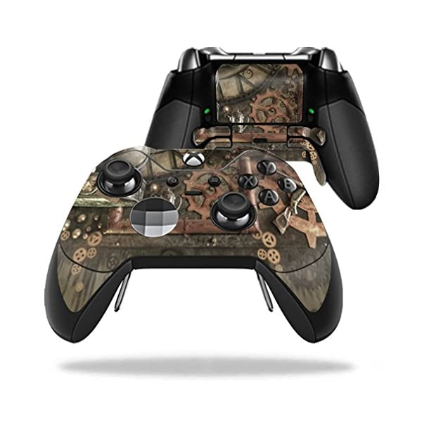 MightySkins Skin Compatible with Microsoft Xbox One Elite Controller - Steam Punk Room | Protective, Durable, and Unique Vinyl wrap Cover | Easy to Apply, Remove, and Change Styles | Made in The USA 3