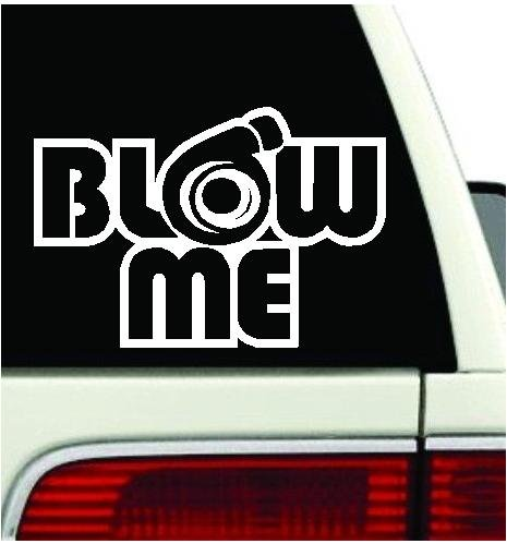 Blow me turbo Decal Funny Car Truck vinyl Sticker JDM racing window decal (23