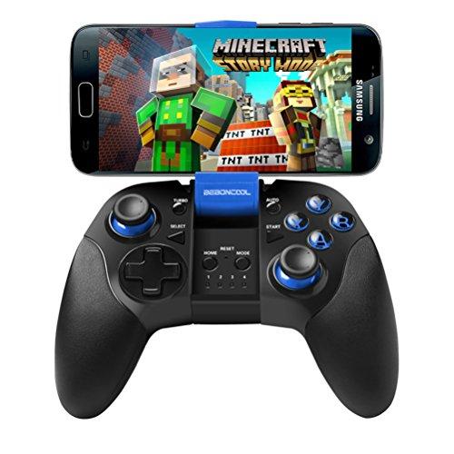 Android Bluetooth Phone Controller, BEBONCOOL Bluetooth Game Controller, Bluetooth Gamepad (For Android Phone/Tablet/Samsung Gear VR/Emulator) Gear VR Gamepad Controller by BEBONCOOL