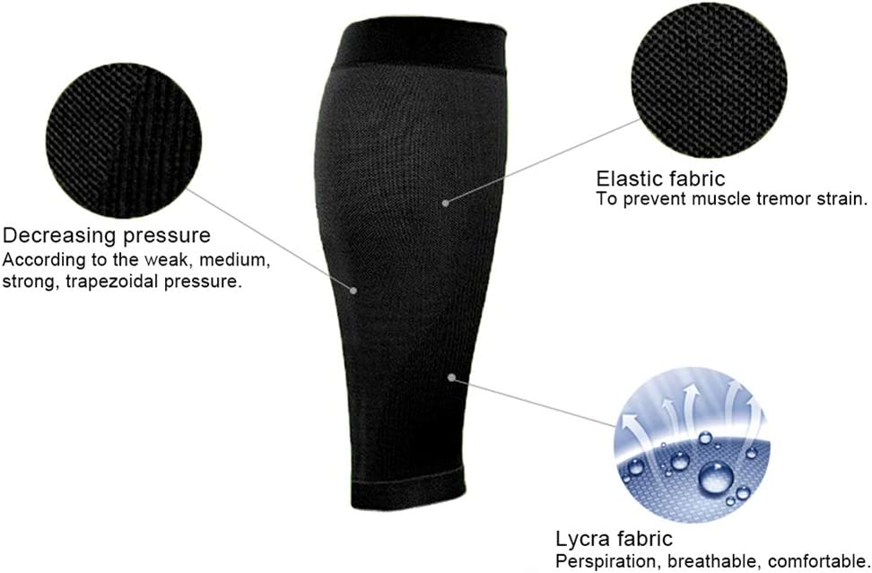 Sports Leg Compression Socks for Men and Women,1 Pair ANYIKE Premium Calf Compression Sleeve