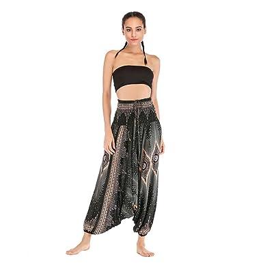 DEELIN Pantalones De Yoga para Mujer Moda Pantalones De ...