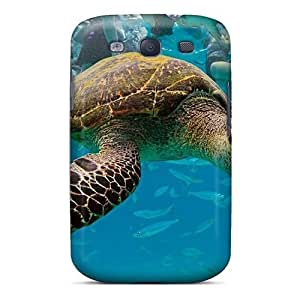 Galaxy S3 Case Bumper Tpu Skin Cover For Turtle Travelling Underwater Accessories