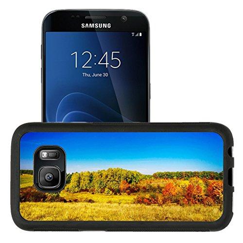 Luxlady Premium Samsung Galaxy S7 Aluminum Backplate Bumper Snap Case IMAGE ID: 33022436 Nice pretty landscape in - Lawn Oak Target