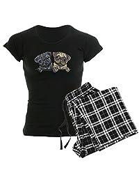 CafePress - Pug Pals - Womens Novelty Cotton Pajama Set, Comfortable PJ Sleepwear