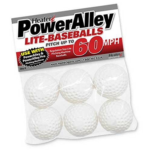 Slider Poly Lite Ball - Set of 6 - Pack of 2 (12 total) by Heater Sports