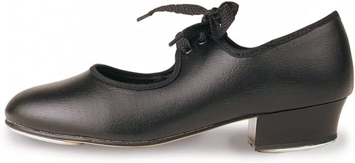BLACK CANVAS TAP DANCE SHOES LOW HEEL ADULT//GIRLS UK SIZE 4 BUT ARE A SMALL FIT
