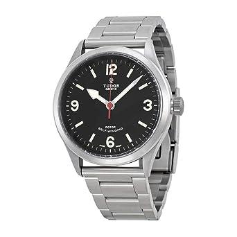 d34f63710ad Tudor Heritage Ranger Black Dial Stainless Steel Mens Watch 79910-BKASSS