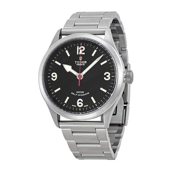 Tudor Reloj de Hombre automático 41mm Correa de Cuero Color marrón m79910-0002