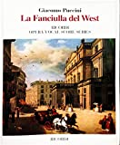 LA FANCIULLA DEL WEST VOCAL SCORE GIRL OF THE GOLDEN WEST PAPER ITALIAN ONLY